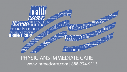 Physicians Immediate Care Shirt Logo